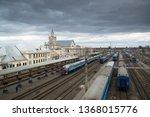 brest  belarus  circa march... | Shutterstock . vector #1368015776