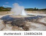 jewel geyser eruption in the... | Shutterstock . vector #1368062636