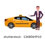 smiling young businessman in a...   Shutterstock .eps vector #1368064910