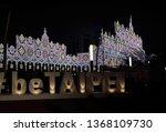 taipei city taiwan   february... | Shutterstock . vector #1368109730