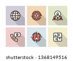 business management icon concept   Shutterstock .eps vector #1368149516