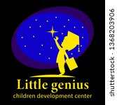 little genius  children...   Shutterstock .eps vector #1368203906