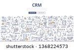 customer relationship...   Shutterstock .eps vector #1368224573