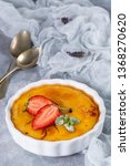 creme brulee   traditional... | Shutterstock . vector #1368270620