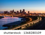 Panorama Of St. Paul At Sunset...