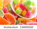 Various Fruit Candy
