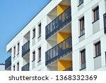 modern european residential... | Shutterstock . vector #1368332369