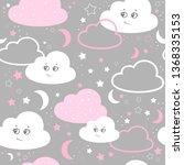 vector illustration baby... | Shutterstock .eps vector #1368335153