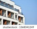 modern european residential... | Shutterstock . vector #1368341249