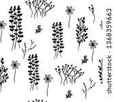 background patterns. floral... | Shutterstock .eps vector #1368359663