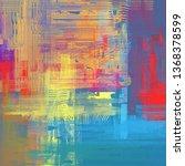 abstract texture. 2d... | Shutterstock . vector #1368378599