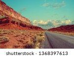 Desert Landscape In Souther...
