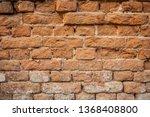brick wall background | Shutterstock . vector #1368408800