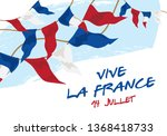 happy bastille day banner. a...   Shutterstock .eps vector #1368418733