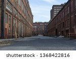 Street Through A Complex Of...