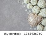 gray plaster background with...   Shutterstock . vector #1368436760