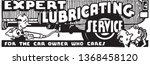 expert lubricating service  ... | Shutterstock .eps vector #1368458120