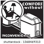 comfort    retro ad art banner | Shutterstock .eps vector #1368469313