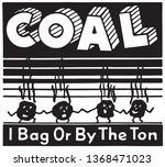 coal    retro ad art banner | Shutterstock .eps vector #1368471023