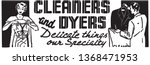 cleaners and dyers   retro ad... | Shutterstock .eps vector #1368471953
