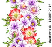 abstract elegance seamless...   Shutterstock .eps vector #1368540419