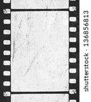 Grunge Monochrome Filmstrip...
