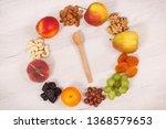 fresh ripe nutritious food as... | Shutterstock . vector #1368579653