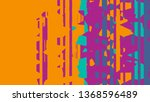 abstract strong color vintage... | Shutterstock . vector #1368596489