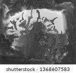 painting  contemporary art.... | Shutterstock . vector #1368607583
