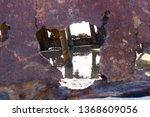 ss waverly ship wreck near... | Shutterstock . vector #1368609056