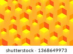 creative seamless yellow... | Shutterstock . vector #1368649973