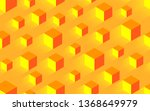 creative seamless yellow... | Shutterstock . vector #1368649979