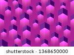 creative seamless tpurple... | Shutterstock . vector #1368650000