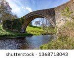 brig o' doon  alloway  ayrshire ... | Shutterstock . vector #1368718043