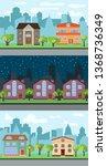 set of three illustrations of...   Shutterstock . vector #1368736349
