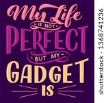 lettering composition for...   Shutterstock .eps vector #1368741236