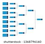 vector championship single... | Shutterstock .eps vector #1368796160
