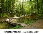 River And Wood Bridge