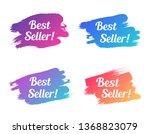 best seller color promo... | Shutterstock .eps vector #1368823079