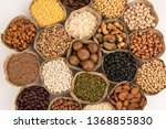grains are nutritious on a... | Shutterstock . vector #1368855830