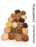 grains are nutritious on a... | Shutterstock . vector #1368855836