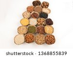 grains are nutritious on a... | Shutterstock . vector #1368855839