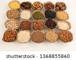grains are nutritious on a... | Shutterstock . vector #1368855860