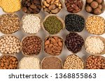 grains are nutritious on a... | Shutterstock . vector #1368855863