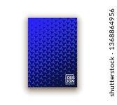 scientific annual report... | Shutterstock .eps vector #1368864956