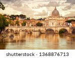 morning view of basilica st... | Shutterstock . vector #1368876713