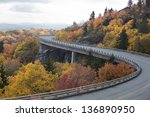 Linn Cove Viaduct On The Blue...