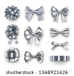 Luxury Silver Gift Bows With...