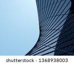 3d stimulate of high rise curve ...   Shutterstock . vector #1368938003