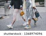 paris  france   march 03  2019  ... | Shutterstock . vector #1368974096